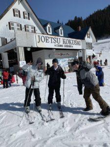 スキー企画!
